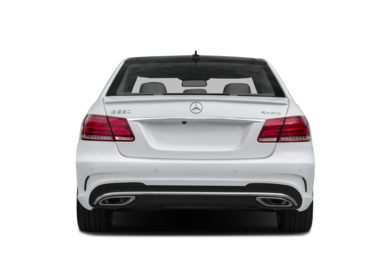 Rear Profile  2014 Mercedes-Benz E550