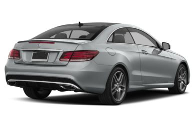 3/4 Rear Glamour  2015 Mercedes-Benz E550