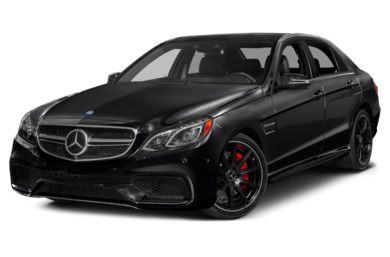 3/4 Front Glamour 2014 Mercedes-Benz E63 AMG