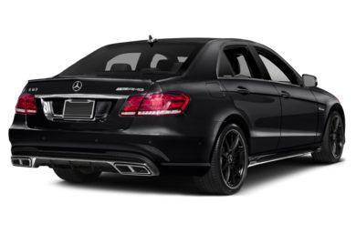3/4 Rear Glamour  2015 Mercedes-Benz E63 AMG
