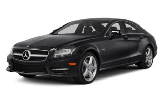 3/4 Front Glamour 2014 Mercedes-Benz CLS550