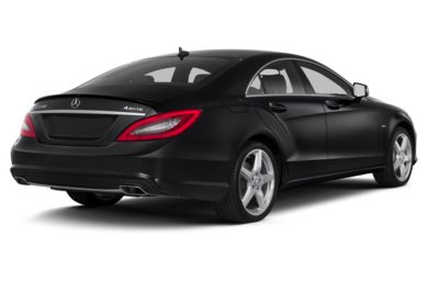 3/4 Rear Glamour  2014 Mercedes-Benz CLS550