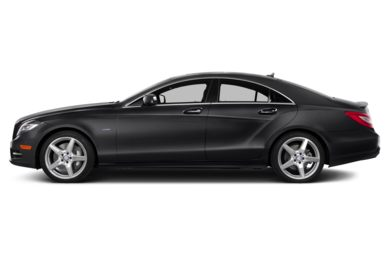 90 Degree Profile 2014 Mercedes-Benz CLS550