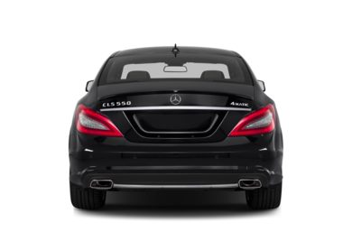 Rear Profile  2014 Mercedes-Benz CLS550