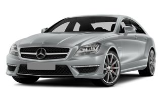 3/4 Front Glamour 2014 Mercedes-Benz CLS63 AMG
