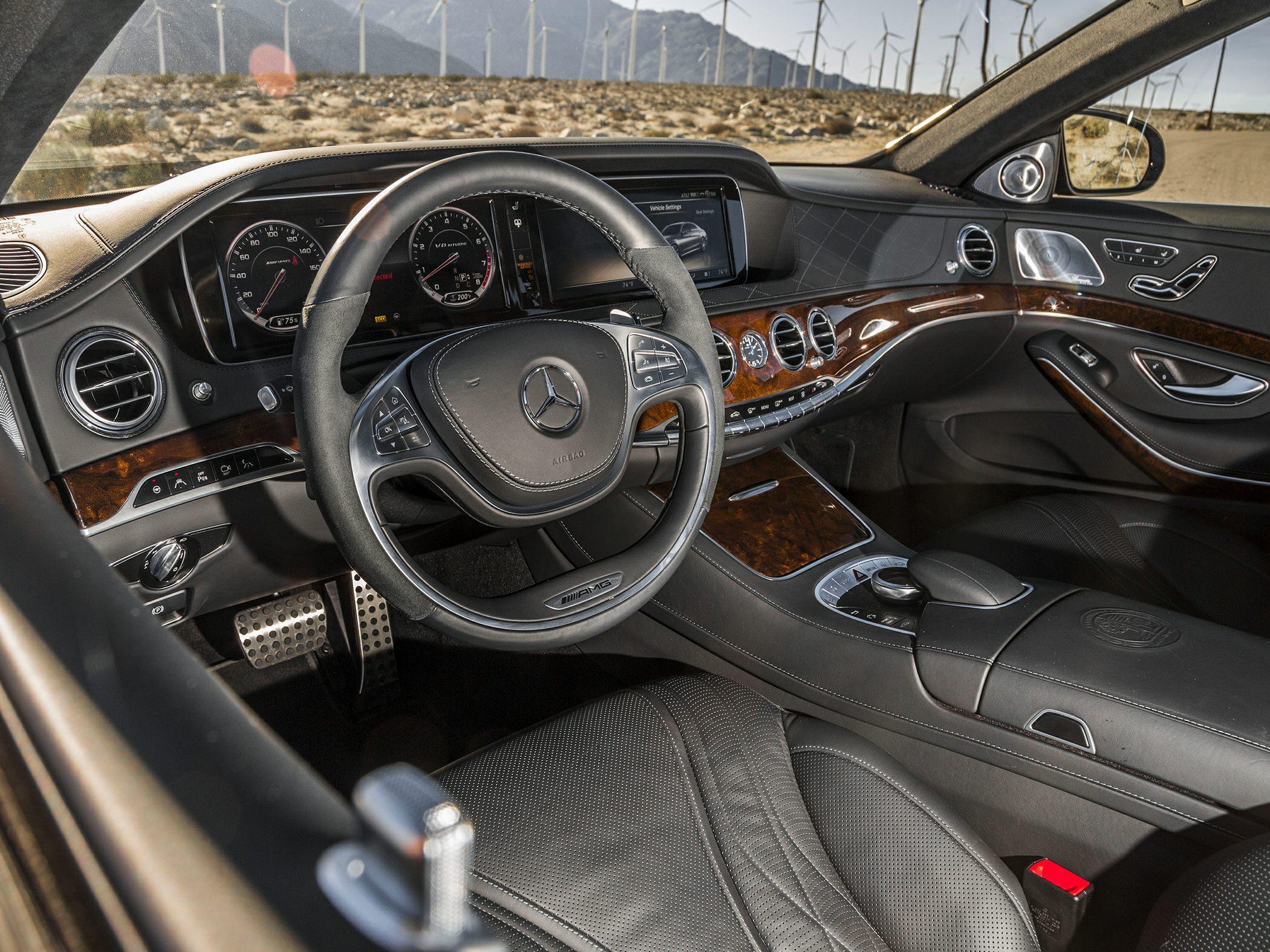 2015 Mercedes-Benz S63 AMG