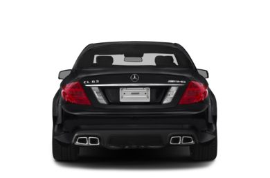 Rear Profile  2014 Mercedes-Benz CL63 AMG