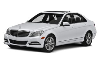 3/4 Front Glamour 2014 Mercedes-Benz C300
