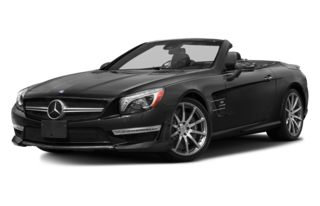 3/4 Front Glamour 2014 Mercedes-Benz SL63 AMG