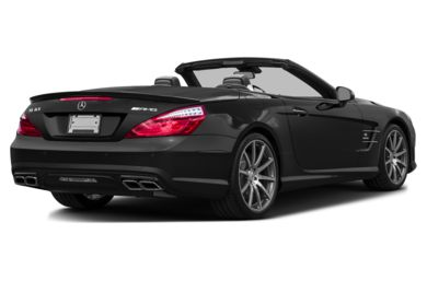 3/4 Rear Glamour  2016 Mercedes-Benz SL63 AMG
