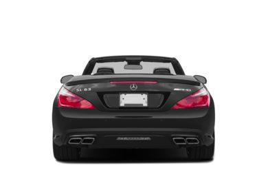 Rear Profile  2016 Mercedes-Benz SL63 AMG