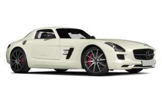 3/4 Front Glamour 2014 Mercedes-Benz SLS AMG