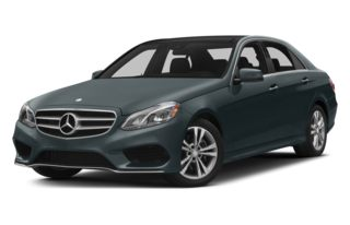 3/4 Front Glamour 2014 Mercedes-Benz E400 Hybrid