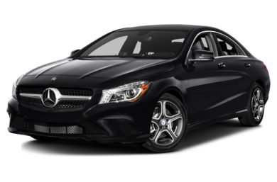 3/4 Front Glamour 2014 Mercedes-Benz CLA250