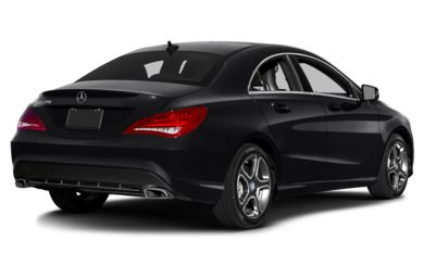 3/4 Rear Glamour  2016 Mercedes-Benz CLA250