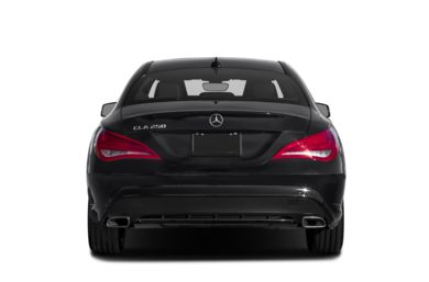 Rear Profile  2014 Mercedes-Benz CLA250