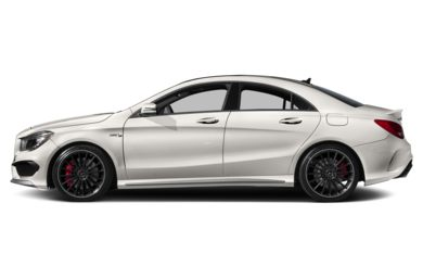 90 Degree Profile 2014 Mercedes-Benz CLA45 AMG