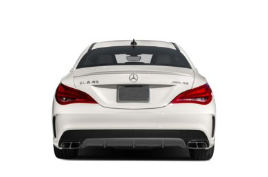 Rear Profile  2016 Mercedes-Benz CLA45 AMG