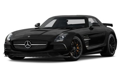 3/4 Front Glamour 2014 Mercedes-Benz SLS AMG Black Series