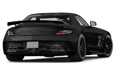 3/4 Rear Glamour  2014 Mercedes-Benz SLS AMG Black Series