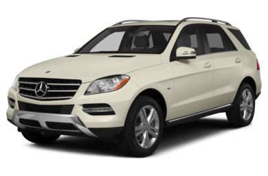 3/4 Front Glamour 2014 Mercedes-Benz ML350