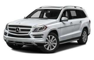 3/4 Front Glamour 2014 Mercedes-Benz GL450