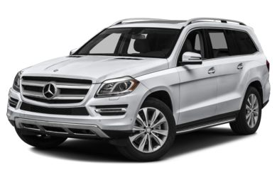 3/4 Front Glamour 2015 Mercedes-Benz GL450