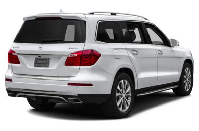 3/4 Rear Glamour  2014 Mercedes-Benz GL450