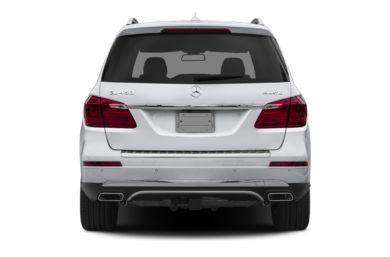 Rear Profile  2014 Mercedes-Benz GL450