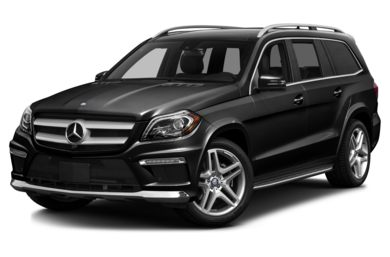 3/4 Front Glamour 2014 Mercedes-Benz GL550