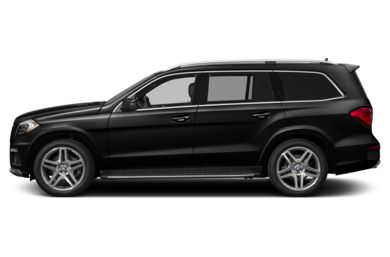 90 Degree Profile 2014 Mercedes-Benz GL550
