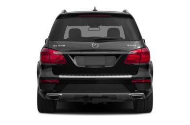 Rear Profile  2014 Mercedes-Benz GL550