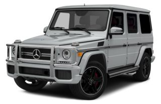 3/4 Front Glamour 2014 Mercedes-Benz G63 AMG