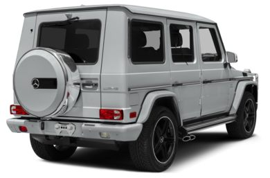 3/4 Rear Glamour  2015 Mercedes-Benz G63 AMG