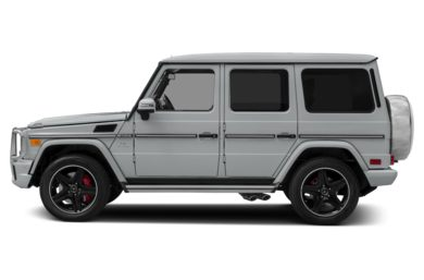 90 Degree Profile 2014 Mercedes-Benz G63 AMG