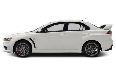 90 Degree Profile 2014 Mitsubishi Lancer Evolution