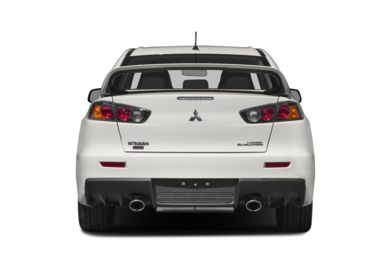 Rear Profile  2014 Mitsubishi Lancer Evolution