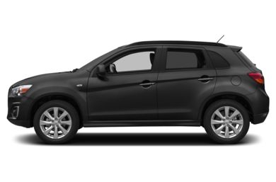 90 Degree Profile 2014 Mitsubishi Outlander Sport