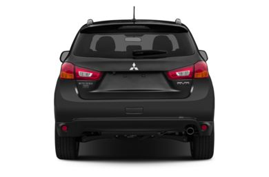 Rear Profile  2014 Mitsubishi Outlander Sport
