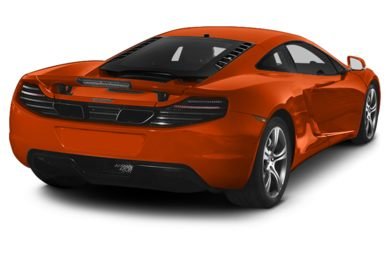 3/4 Rear Glamour  2014 McLaren MP4-12C