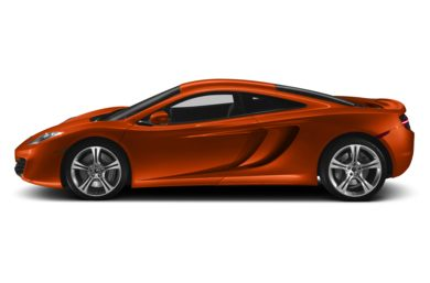 90 Degree Profile 2014 McLaren MP4-12C