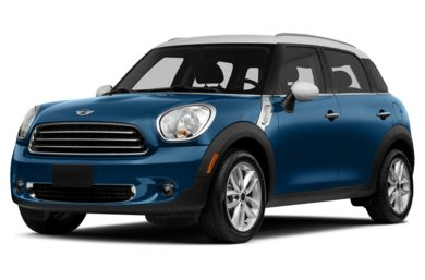 3/4 Front Glamour 2014 MINI Countryman