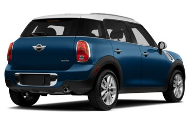 3/4 Rear Glamour  2014 MINI Countryman