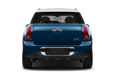 Rear Profile  2014 MINI Countryman