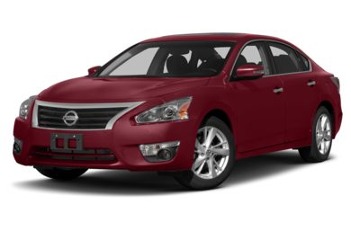 3/4 Front Glamour 2014 Nissan Altima