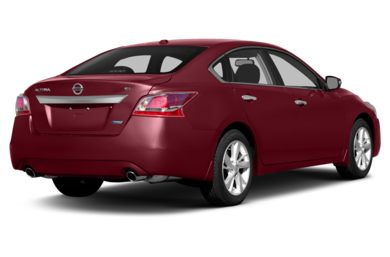 3/4 Rear Glamour  2014 Nissan Altima