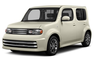 3/4 Front Glamour 2014 Nissan Cube