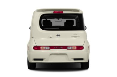 Rear Profile  2014 Nissan Cube