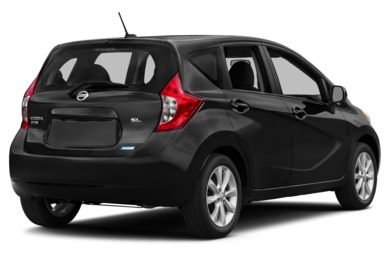 3/4 Rear Glamour  2014 Nissan Versa Note