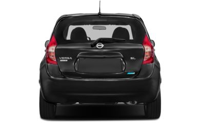 Rear Profile  2014 Nissan Versa Note